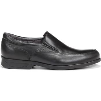 Schuhe Herren Slipper Fluchos 8902 MALLORCA SANOTAN MAITRE MOCASIN MAN SCHWARZ