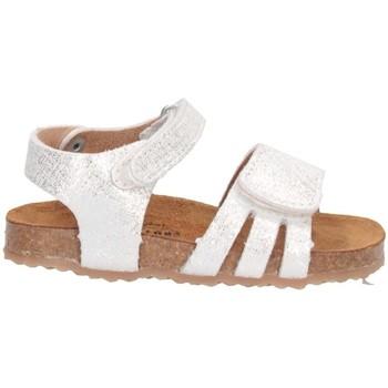Schuhe Mädchen Sandalen / Sandaletten Plakton 865517 Sandalen Kind WEISS WEISS