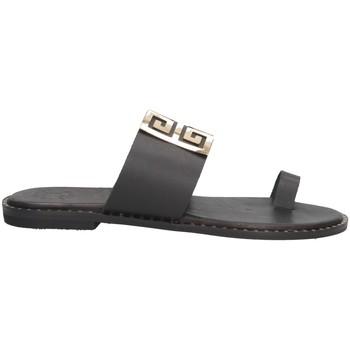 Schuhe Damen Sandalen / Sandaletten Tsakiris Mallas 605 IRENE 6-1 Sandalen Frau SCHWARZ SCHWARZ