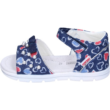 Schuhe Mädchen Sandalen / Sandaletten Enrico Coveri BJ982 Blau