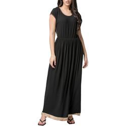 Kleidung Damen Maxikleider Luna Savannah  Splendida Sommer-Maxikleid Elfenbein