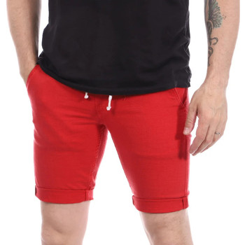 Kleidung Herren Shorts / Bermudas Paname Brothers PB-BRAVO Rot