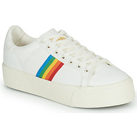 Schuhe Damen Sneaker Low Gola ORCHID PLATFORM RAINBOW Weiss / Multicolor
