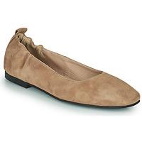 Schuhe Damen Ballerinas Betty London PETRUS Cognac