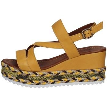 Schuhe Damen Sandalen / Sandaletten Bueno Shoes Q6002 GELB