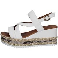 Schuhe Damen Sandalen / Sandaletten Bueno Shoes Q6002 WEISS