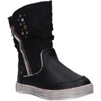 Schuhe Mädchen Boots Urban 196048-B2040 Negro
