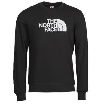 Kleidung Herren Sweatshirts The North Face DREW PEAK CREW Schwarz / Weiss