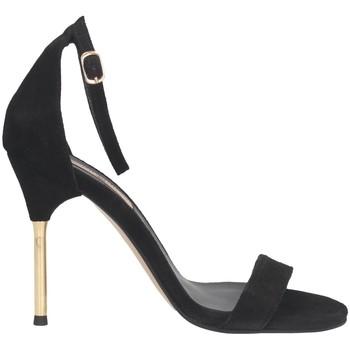 Schuhe Damen Sandalen / Sandaletten Tsakiris Mallas 716 STING 6-1 Sandalen Frau SCHWARZ SCHWARZ