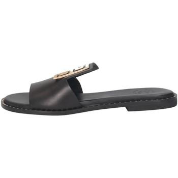 Schuhe Damen Pantoffel Tsakiris Mallas 838 IRENE 6-1 Pantoffeln Frau SCHWARZ SCHWARZ