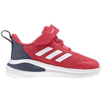 Schuhe Kinder Laufschuhe adidas Originals Fortarun K Rot, Grau