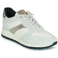 Schuhe Damen Sneaker Low Geox TABELYA Weiss