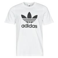 Kleidung Herren T-Shirts adidas Originals TREFOIL T-SHIRT Weiss