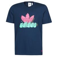 Kleidung Herren T-Shirts adidas Originals 6 AS TEE Blau / Marine