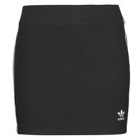 Kleidung Damen Röcke adidas Originals 3STRIPES SKIRT Schwarz