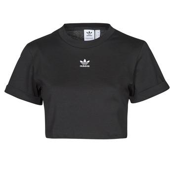 Kleidung Damen T-Shirts adidas Originals TEE Schwarz
