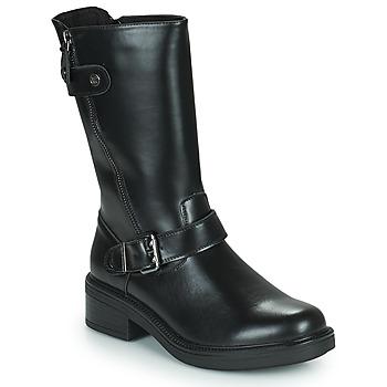 Schuhe Damen Boots Chattawak CAROLINA Schwarz