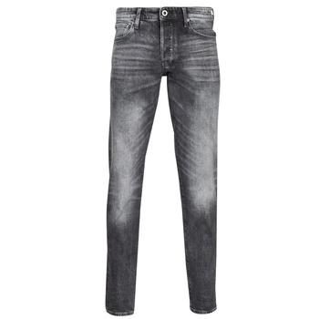 Kleidung Herren Straight Leg Jeans G-Star Raw 3301 STRAIGHT TAPERED Grau
