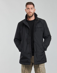 Kleidung Herren Trenchcoats G-Star Raw UTILITY HB TAPE PDD TRENCH Schwarz