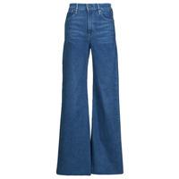 Kleidung Damen Bootcut Jeans G-Star Raw DECK ULTRA HIGH WIDE LEG Blau