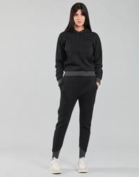 Kleidung Damen Jogginghosen G-Star Raw PREMIUM CORE 3D TAPERED SW PANT WMN Schwarz