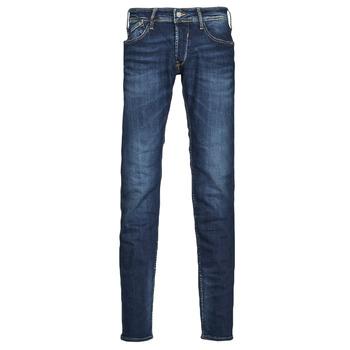 Kleidung Herren Slim Fit Jeans Le Temps des Cerises 712 BAS Blau
