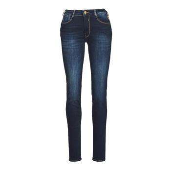 Kleidung Damen Slim Fit Jeans Le Temps des Cerises PULP HIGH NAPLES Blau / Schwarz
