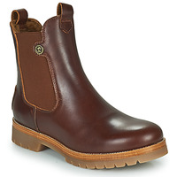 Schuhe Damen Boots Panama Jack FRANCESCA Braun