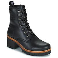 Schuhe Damen Boots Panama Jack PADMA Schwarz