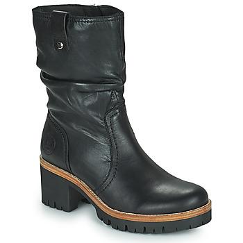 Schuhe Damen Boots Panama Jack PIERA Schwarz
