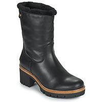 Schuhe Damen Boots Panama Jack PIOLA Schwarz