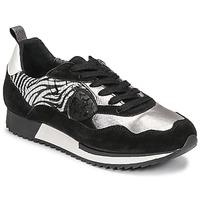 Schuhe Damen Sneaker Low Philippe Morvan ROX Schwarz / Silbern