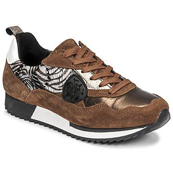 Schuhe Damen Sneaker Low Philippe Morvan ROXA Braun / Schwarz
