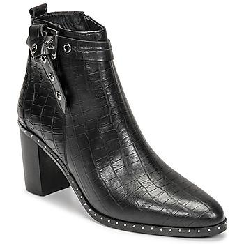 Schuhe Damen Klassische Stiefel Philippe Morvan BERRYS Schwarz
