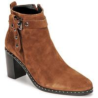 Schuhe Damen Klassische Stiefel Philippe Morvan BERRYS Braun
