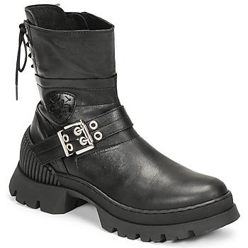 Schuhe Damen Boots Philippe Morvan CAMIX Schwarz
