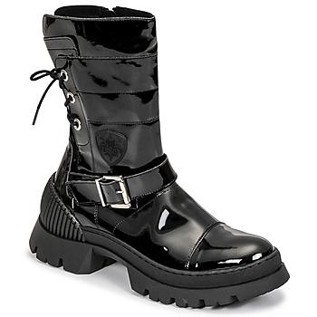 Schuhe Damen Boots Philippe Morvan CHARMY Schwarz