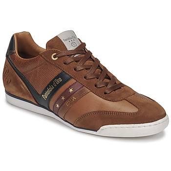 Schuhe Herren Sneaker Low Pantofola d'Oro VASTO UOMO LOW Braun