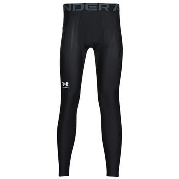 Kleidung Herren Leggings Under Armour UA HG ARMOUR LEGGINGS Schwarz / Weiss