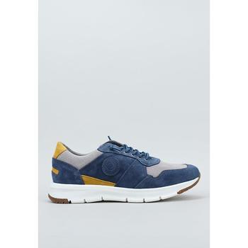 Schuhe Herren Sneaker Low Krack  Blau