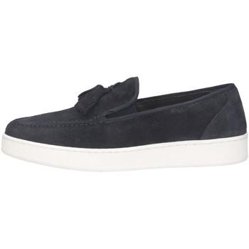 Schuhe Herren Slipper Made In Italia 1120 Halbschuhe Mann BLAU BLAU