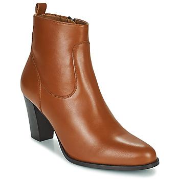 Schuhe Damen Low Boots Betty London PETRA Cognac