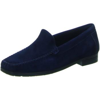 Schuhe Damen Slipper Sioux Slipper Campina-Hw 58867 blau