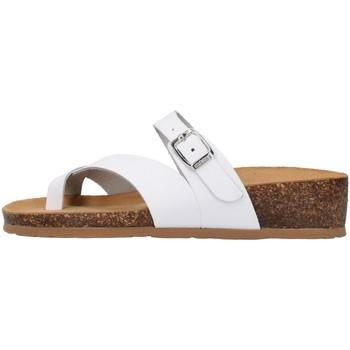 Schuhe Damen Pantoffel Bionatura 12A456 WEISS