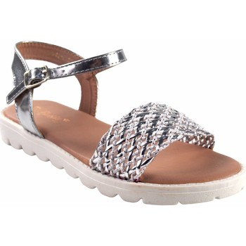 Schuhe Mädchen Multisportschuhe Bubble Bobble Mädchen  a2942 Silber Silbern