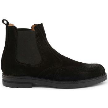 Schuhe Herren Boots Duca Di Morrone - 101_camoscio Schwarz