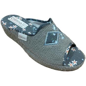 Schuhe Damen Hausschuhe Cristina CRI0621gri grigio
