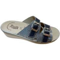Schuhe Damen Pantoffel 3 Rose 3ROSE92173blu blu