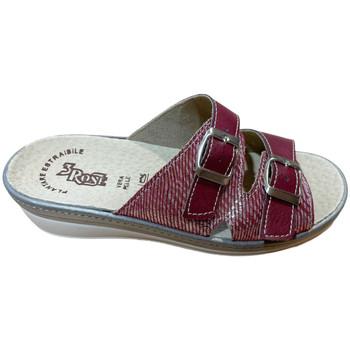 Schuhe Damen Pantoffel 3 Rose 3ROSE92173bord blu