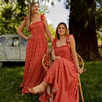Kleidung Damen Maxikleider Céleste AURORE Rot